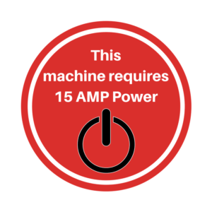 15 AMP Power Required