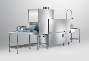 Rack convenyor pass through dishwasher sales photo