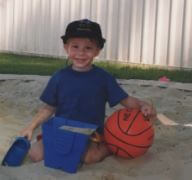kid in sandpit