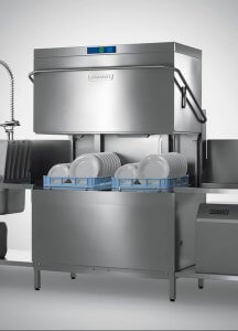 Hobart WS-AMXT Double rack Glass and Dishwasher