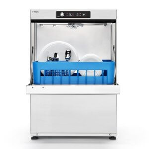 Sammic X41 Compact dishwasher open door